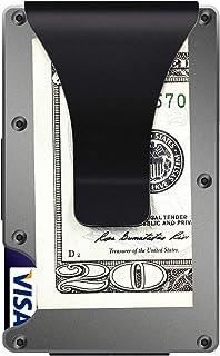Minimalist Wallet, Slim Wallet & RFID Blocking Front Pocket Wallet, Aluminum Wallet for Men And Women