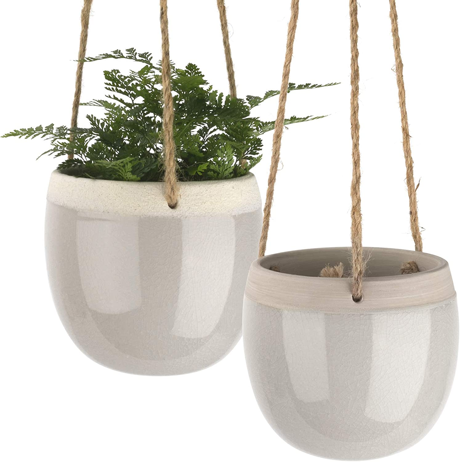 Selling rankings Ceramic Hanging Planters Indoors Ranking TOP5 - Plant Inch 5.5 Pots
