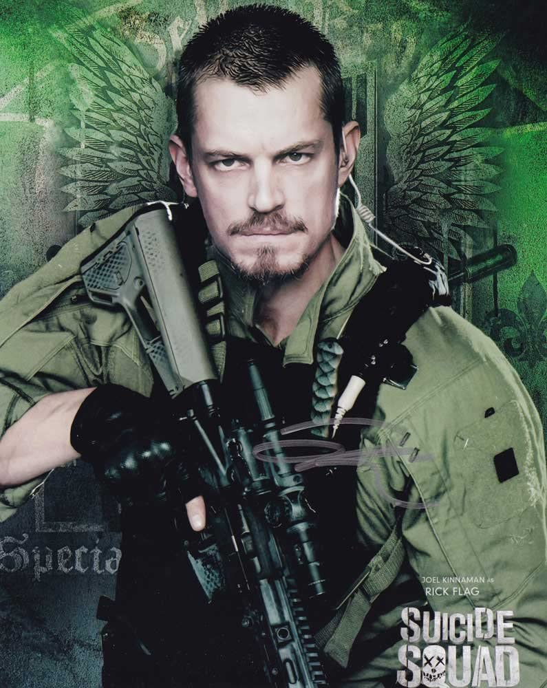 Joel Kinnaman in-person Baltimore Mall autographed photo In stock