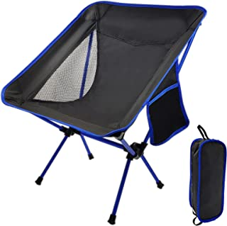Small Collapsible Foldable Packable Lightweight Backpack Chair in a Bag for Outdoor Camp Hiking Picnic Compact Ultralight Folding Backpacking Chairs Portable Camping Chair