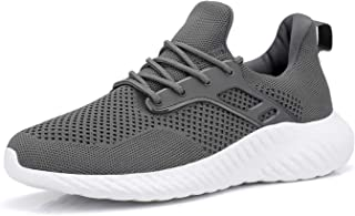 Womens Slip on Sneakers Lightweight Comfortable Mesh...
