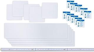 Flickly zelfklevende tapes voor zeilen, 10-delig, Easy Patch Comfort 100 mm, voor tenten, dekzeilen en UVM