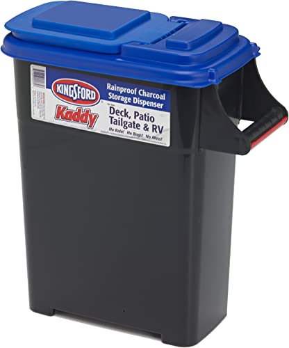 lowest Buddeez 07501B Kingsford Charcoal and Pellet 2021 wholesale Dispenser, 12lb bags, Black outlet sale