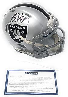 bo jackson signed mini helmet
