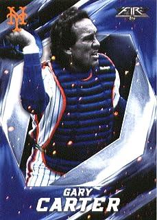 2017 Topps Fire #11 Gary Carter New York Mets Baseball Card