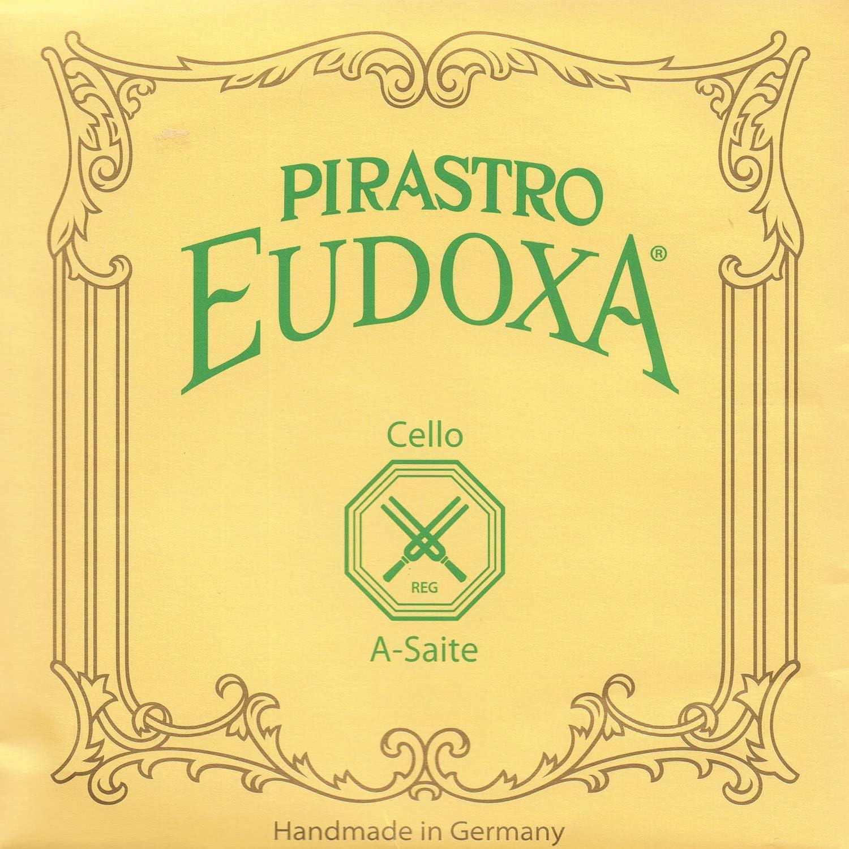 Pirastro Eudoxa 4 Cello A String Max 73% OFF G 21 Medium Gut Genuine Free Shipping Aluminum -