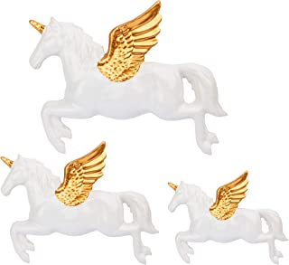 Sass & Belle Set of 3 Flying Unicorn Wall Decorations