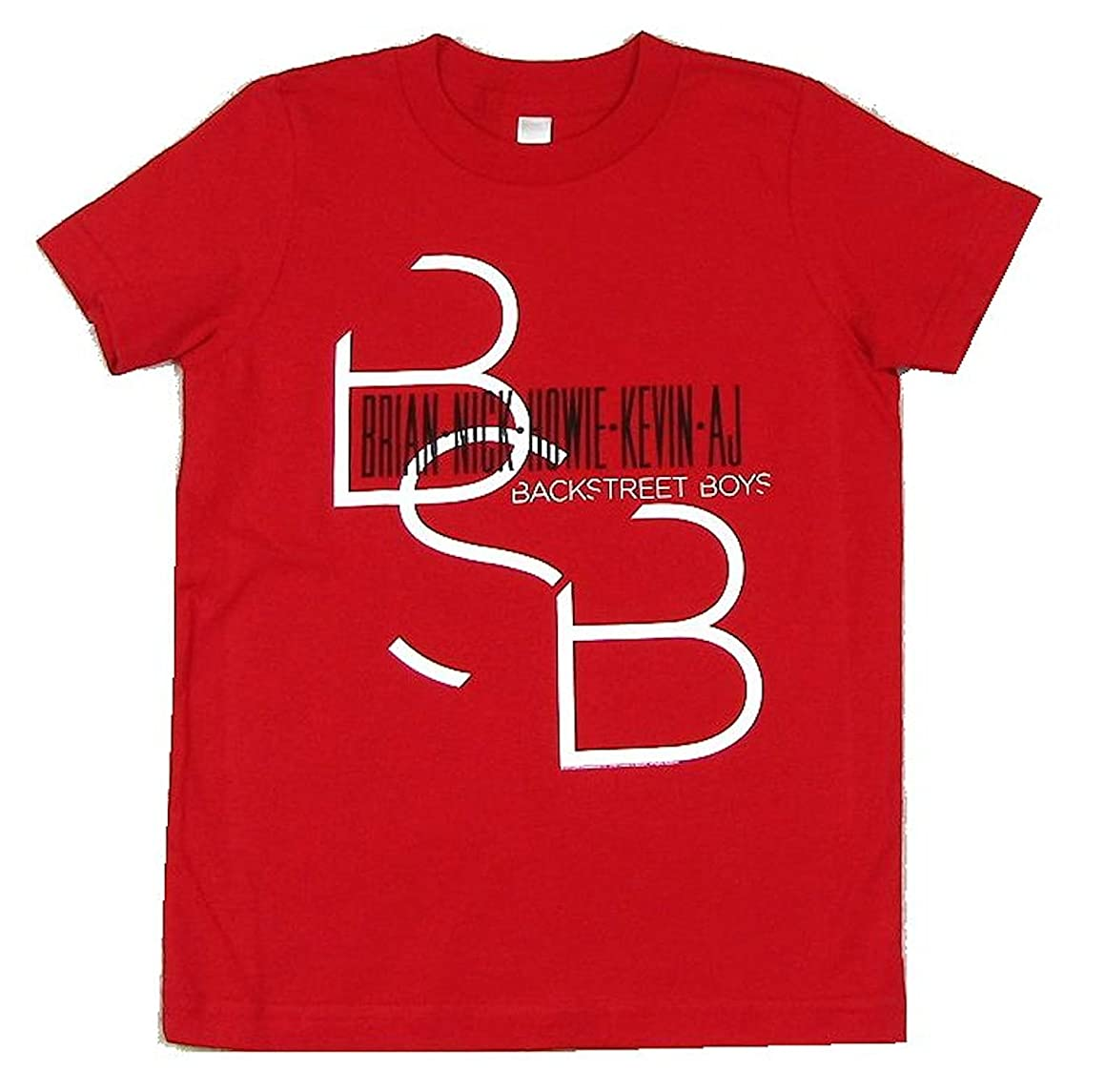 Names BSB Kids Youth Red T Shirt