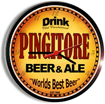 PINGITORE beer and ale cerveza wall clock