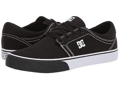 DC Trase TX (Black/Yellow) Skate Shoes