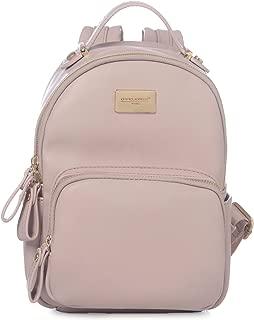 DAVIDJONES Women Backpack Leather Shoulder Bag