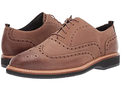 Cole Haan Morris Wing Oxford (Taupe Nubuck) Men