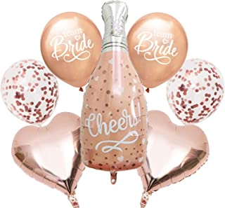 AMFIN® Cheers Balloon Bride to be Props for Wedding Bride Mates Decoration for Wedding Bride Team Bachelorette Party Decor...