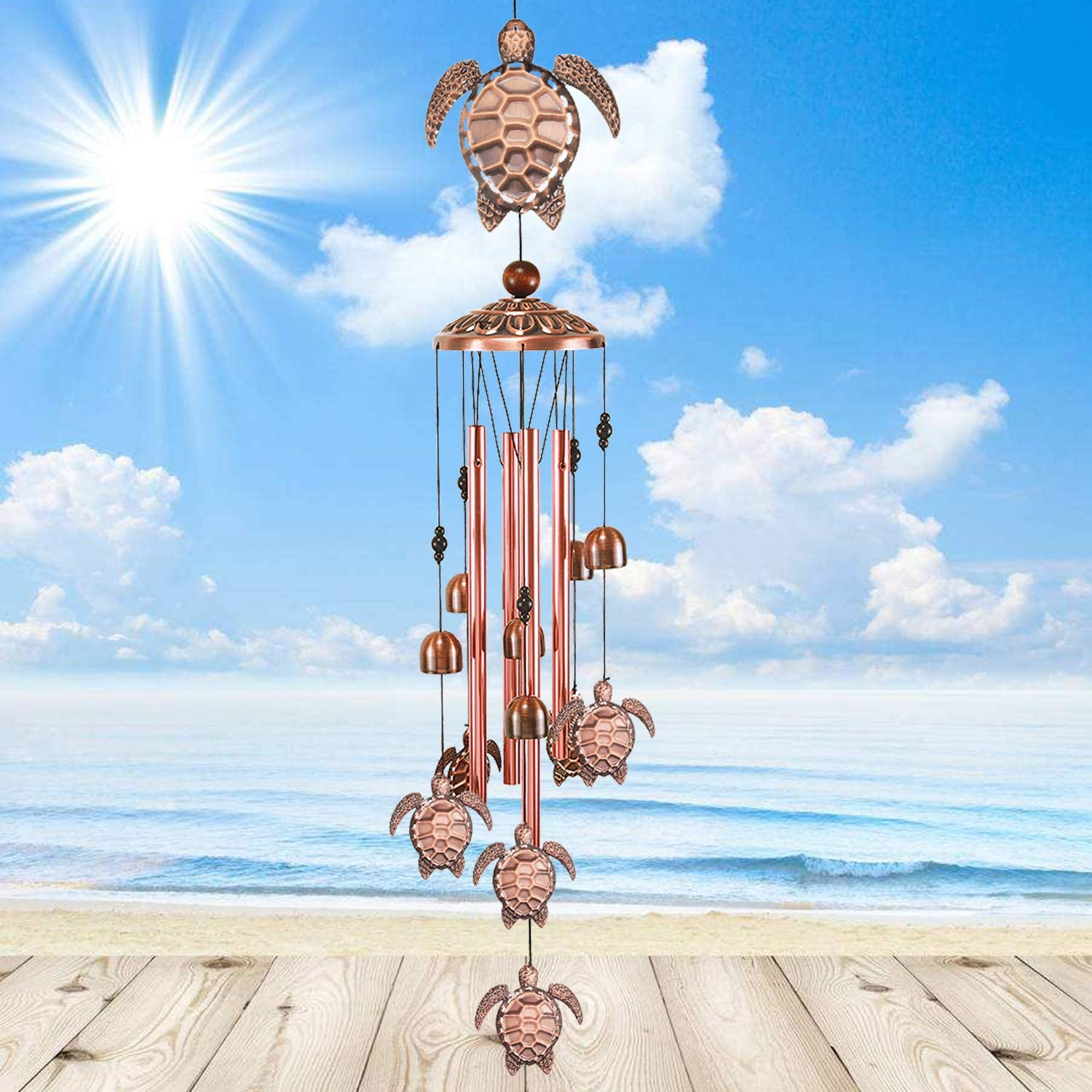23. Turtle Wind Outdoor Wind Chime