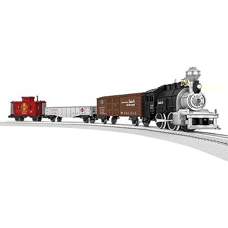 Lionel Junction Santa Fe Steam Train Set - O-Gauge