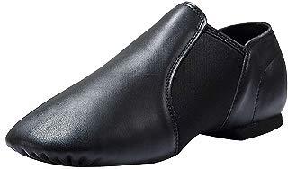 Dynadans Leather Upper Slip-on Jazz Shoe (Big Kid/Little...