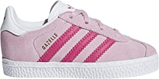 adidas Originals Gazelle I Clear Pink Suede Infant Trainers Shoes