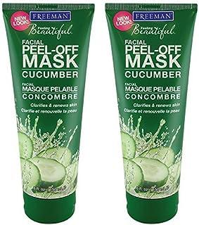 Freeman Cucumber Facial Peel-Off Mask - 6 oz (Pack of 2) … (Pack of 2)