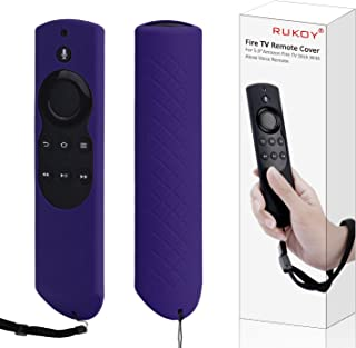 Case for 5.9'' Fire TV or TV Stick Remote,Rukoy Protective Case for 5.9'' Amazon Fire TV or Fire TV Stick Remote with Alex...