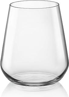 Bormioli Rocco InAlto, Confezione, 6 Wassergläser, DOF, 450 ml, 3.65750