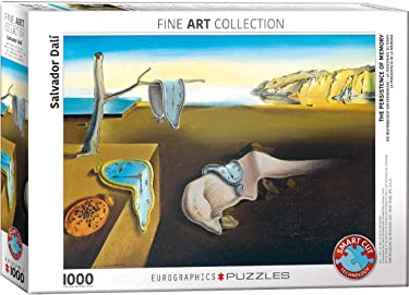 EuroGraphics (EURHR) The Persistence of Memory by Salvador Dali 1000Piece Puzzle 1000Piece Jigsaw Puzzle