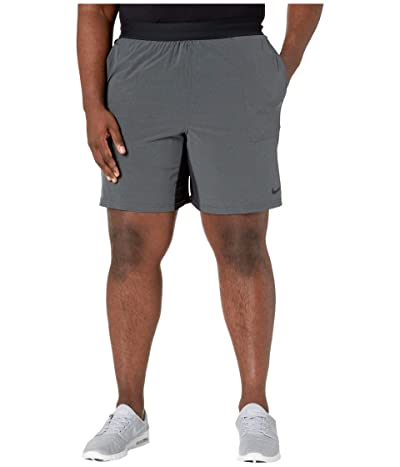 Nike Big Tall Flex Shorts Active (Black/Iron Grey/Black/Black) Men