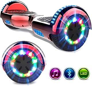 """6.5/"""" Hoverboard Elektrischer Scooter E-Skateboard Motor Glänzen mit Bluetooth"""