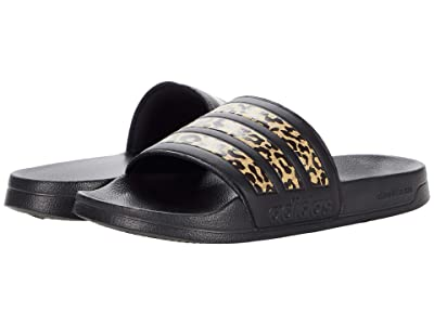 adidas Adilette Shower Slides (Black/Black/Black) Women