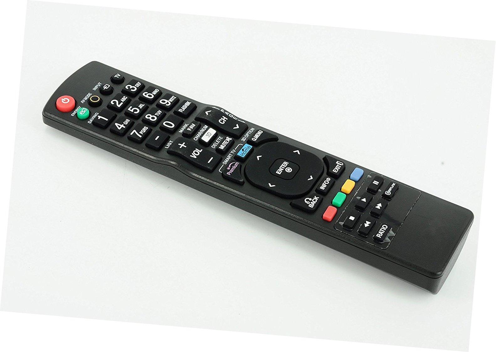Nuevo mando a distancia de repuesto para 42lk550-ua 47LW6500 32lw5700 55lv9500 55lk530-uc 72lz9700 LG LCD LED TV de Plasma: Amazon.es: Electrónica