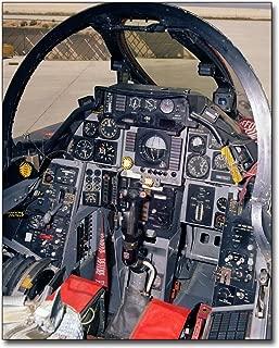 F-14 Tomcat Cockpit 8x10 Silver Halide Photo Print