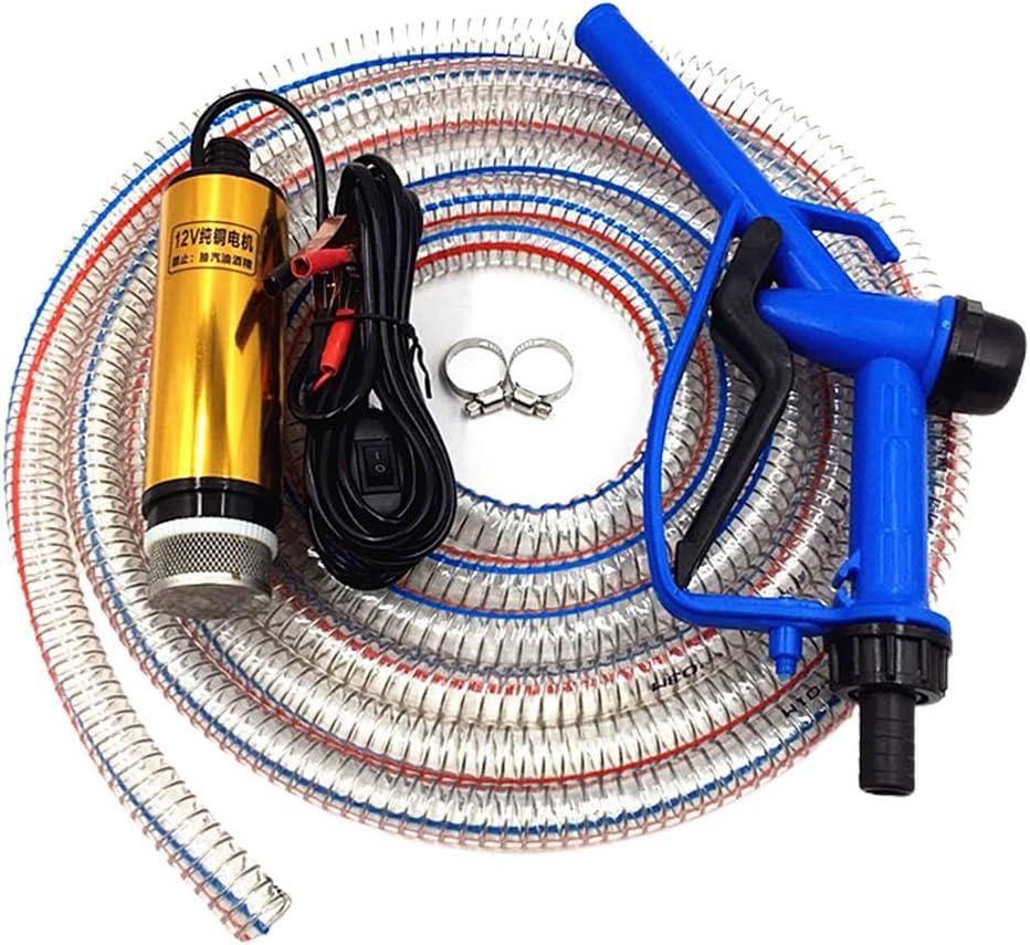 BSTQC Bomba eléctrica de 12 V, dispensador de depósito, máquina antiséptica para gasolina, gasolina, diésel, agua líquida, acuarios