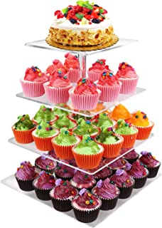 Best 2 tier square cake stand Reviews