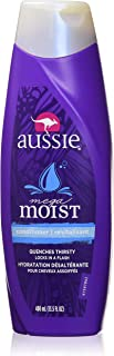 Aussie Conditioner Mega Moist 13.5 Ounce (399ml) (2 Pack)