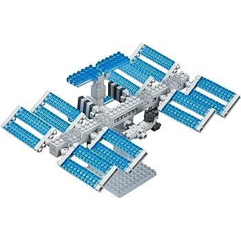 ナノブロック スペースステーション NBH_129
