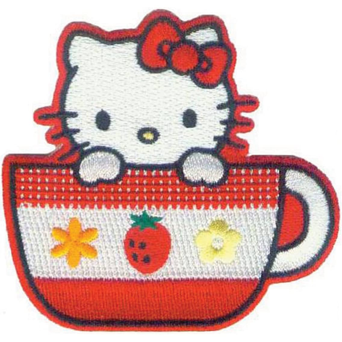 Application Hello Kitty Tea Cup Patch