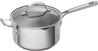 Emeril Lagasse 62898 Stainless Steel Copper Core Saucepan, 4-Quart, Silver