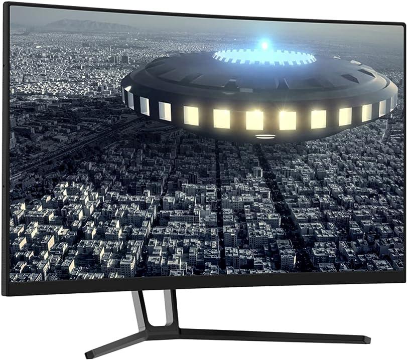 Pc monitor curvo 27 pollici lc-power (qhd 3 hdmi displayport free-sync 144 hz 2560x1440 1500r) LC-M27-QHD-144-C