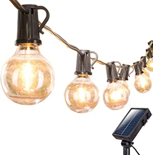 solar powered outdoor bulb lights