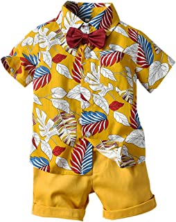 Baby Boy Floral Outfit, 6 Months - 5 Years