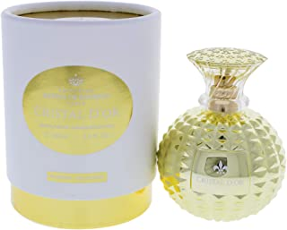Cristal D'or by Princesse Marina de Bourbon | Eau de Parfum Spray | Fragrance for Women | Floral and Fruity Scent with Notes of Jasmine, Amber, and Mandarin | 100 mL / 3.4 fl oz