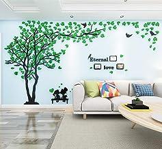 Árbol Pegatinas de Pared 3D Árbol Familia Marco de Fotos DIY Murales Stickers Decoración para Salón, Dormitorio, Oficina, ...