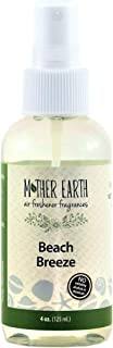 Mother Earth Fragrance Company - Beach Breeze - a Fresh Linen Scent - Natural Air Freshener, 4 Ounce (Pack of 2)