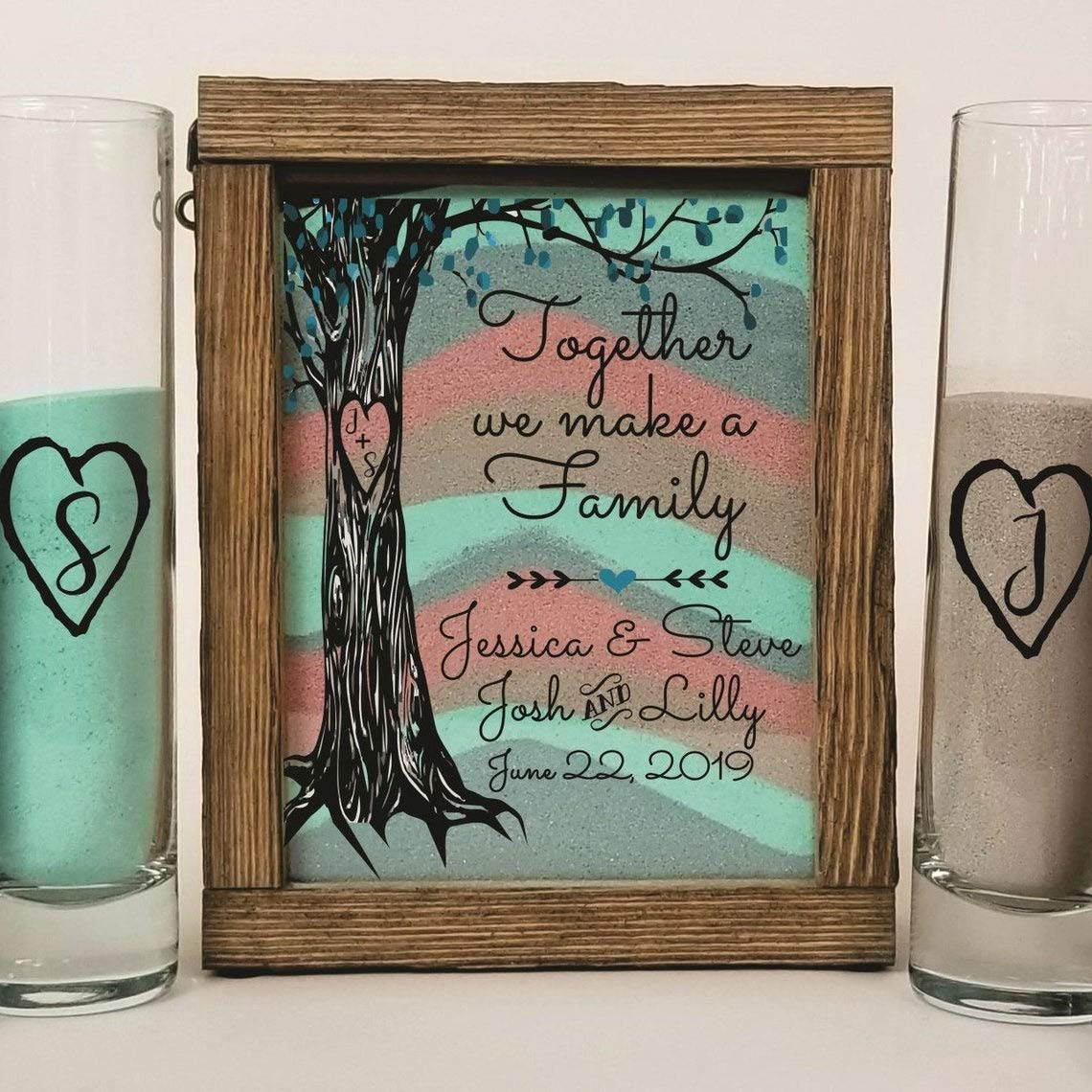 New product type Wedding Candles - Candle Holders sold out Blended Set for Ceremony Sand