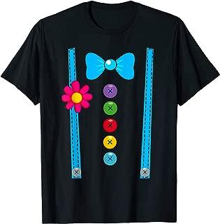 Clown Costume Funny Circus Halloween Costumes Men Women Kids T-Shirt
