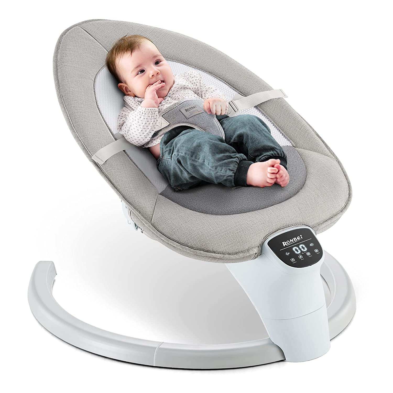 Baby Swing RONBEI Comfort Infants Natu Today's only Cradling All items free shipping for