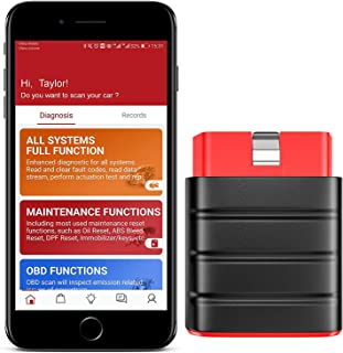 Sponsored Ad - Thinkcar Bluetooth OBD2 Scanner, Full System Code Reader with 15 Reset Service, Car Diagnostic Tool for iPh...