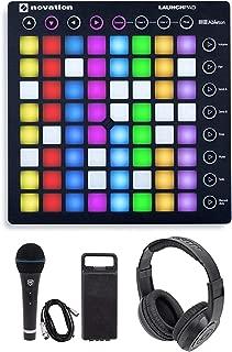Novation LAUNCHPAD S MK2 MKII MIDI USB RGB Controller Pad+Mic+Cable+Headphones Bundle