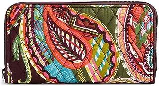 Vera Bradley RFID Georgia Wallet in Heirloom Paisley