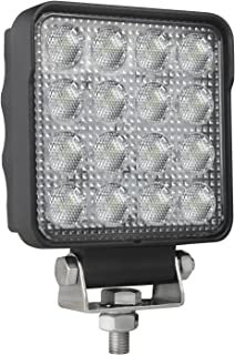 HELLA 357106002 ValueFit 4 Square 2.0 LED Close Range Worklight ,Black