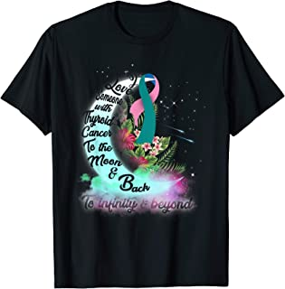 i love someone with thyroid cancer t shirts